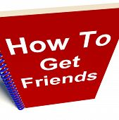 How To Get Friends On Notebook Represents Getting Buddies