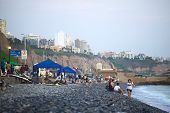 The Coast of Miraflores, Lima, Peru