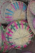 Bamboo Baskets In Random, India