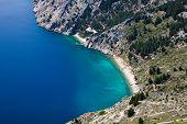Vrulja Beach Near Brela Croatia