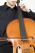 Cellist Bowing 3