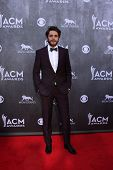 LAS VEGAS - APR 6:  Thomas Rhett at the 2014 Academy of Country Music Awards - Arrivals at MGM Grand