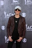 LAS VEGAS - APR 6:  Chris Janson at the 2014 Academy of Country Music Awards - Arrivals at MGM Grand