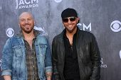 LAS VEGAS - APR 6:  LoCash Cowboys at the 2014 Academy of Country Music Awards - Arrivals at MGM Gra