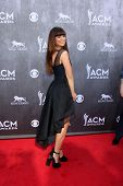 LAS VEGAS - APR 6:  Rachel Reinert at the 2014 Academy of Country Music Awards - Arrivals at MGM Gra