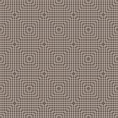 White Line Squares Seamless Pattern on dark