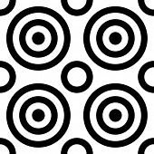 Seamless Concentric Pattern