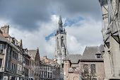 The Belfry (french: Beffroi) Of Tournai, Belgium