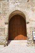 Castle of Laterza. Puglia. Italy.