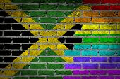 Dark Brick Wall - Lgbt Rights - Jamaica