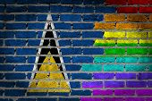 Dark Brick Wall - Lgbt Rights - Saint Lucia