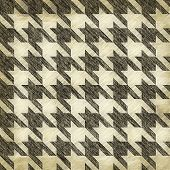 image of dog teeth  - A sketched or worn looking hounds tooth pattern that tiles seamlessly in any direction - JPG