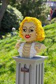 Legoland Marilyn Monroe