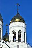 Bell Tower Of Cathedral Of Christ The Savior. Kaliningrad, Russia