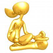 Gold Guy Open Head Yoga
