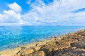 Sea of emerald green, Okinawa