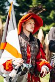Participant Of Festival Of Medieval Culture Our Grunwald