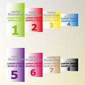banners with text for web design