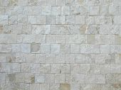 Travertine Marble Wall