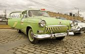Russian Retro Car Volga