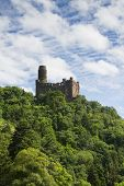 Castle Maus At The Rhine Valley