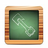 Blackboard Piston