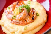 Barbecued Shrimp And Grits