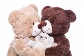 foto of teddy  - Happy family  - JPG