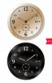 Realistic Mechanical Clock Icons