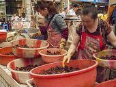 Food Market In Chengdu, China