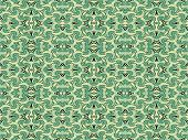 Abstract Arabesque Pattern