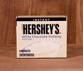 Box Of Hershey's White Chocolate Pudding