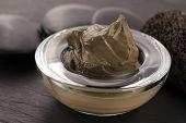 Dead Sea Mud In A Bowl