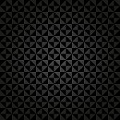 Geometric Seamless  Abstract Dark Pattern with Triangles