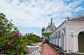 Koh Wung Palace  At Petchaburi  Province,thailand