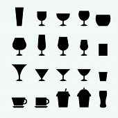 Glass And Cup Icon