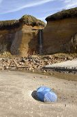 Oregon Coast Lincoln City Beach Erosion.