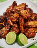 Caramelized Asian Chicken Wings