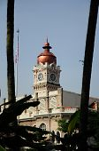 The Sultan Abdul Samad Building clock tower