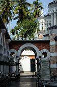 Pathway at Kuala Lumpur Jamek Mosque in Malaysia