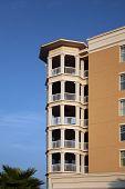 Condominium or apartment balconies