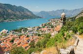 Kotor Bay and Old Town view, Montenegro