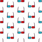 glasses seamless pattern background