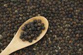 pic of peppercorns  - Black peppercorn background - JPG
