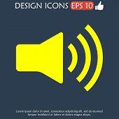 picture of speaker  - Speaker icon - JPG