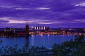stock photo of scandinavian  - View of the famous scandinavian and north european city Stockholm  - JPG