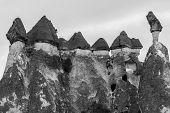 foto of chimney rock  - Fairy tale chimney rocks in Pasabg  - JPG