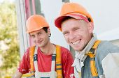 Two Builder Facade Painters