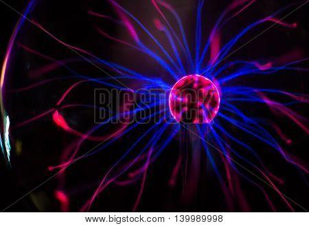 Plasma ball in