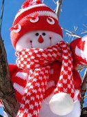 Abenteuerlustige Schneemann